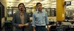 Paul Avery i skikkelse Robert Downey Jr. (tv.) og Robert Graysmith, spillet af Jake Gyllenhaal