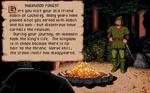 Robin Hood i det klassiske computerspil 'Defender of the Crown'