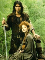 Michael Praed som Robin of Locksley i TV-serien 'Robin of Sherwood'