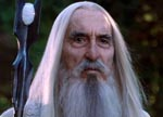 Lee som Saruman i 'The Lord of the Rings: The Fellowship of the Ring' (2001)