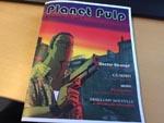 Layoutskitse til det kommende fysiske nummer af 'Planet Pulp'.