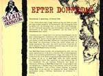 Forsiden af 'Sleazehound's postapokalyptiske tema 'Efter Dommedag'