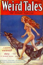 Weird Tales, september 1933.