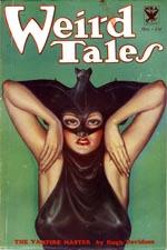 Weird Tales, oktober 1933.