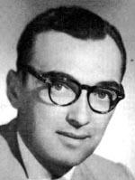 A. E. van Vogt (1912-2000) på et billede fra 1957.