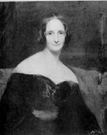 Mary Wollstonecraft Shelley (1797-1851).