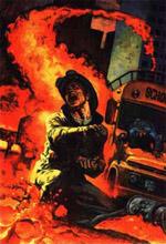 Randel Portman, også kaldet Brandmanden, var den første nova