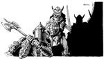 Easleys illustrationer rammer pulpstilen i 'Conan' lige på.