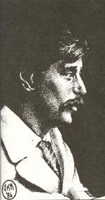 H. G. Wells tegnet af Kevin Ramos.