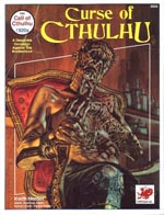 Chaosiums 'Call of Cthulhu'-supplement 'Curse of Cthulhu' fra 1990.