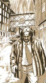 En detektiv ude i klassisk noir-regn