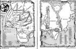 Det fantastiske kort over Hyboria.