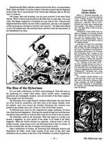 Layoutet er i det klassiske 'GURPS'-format for perioden, og ligner derfor de fleste andre Worldbooks fra den tid med en mindre sidekolonne og det hele.