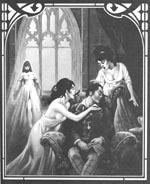 En af Stephen Fabians fabelagtige illustrationer fra førsteudgaven.