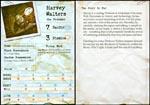 Et eksempel på én af spillets character sheets