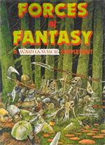Coveret til 'Forces of Fantasy'-boksen - tegnet af John Blanche.