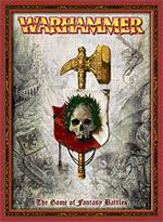 Den nye udgave af selve 'Warhammer Fantasy Battle 7th edition'-regelbogen.