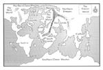 Det første kort over Warhammer-verdenen nogensinde, fra 2nd editions 'Battle Bestiary'-hæfte.