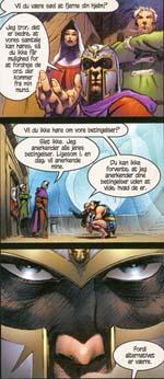 Magneto træder ind i heltenes rækker