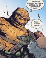 Ben Grimm i kamp med én af Dooms lakajer.