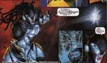 Den foxy 'kvinde'-robot Morrigun viser alle formerne og hele kromet