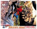 """Superman versus """"The City of Tomorrow"""" i en scene der vækker mindelser om 'Action Comics' #1 (1938)"""