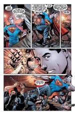 Superman leger med Metropolis' politikorps
