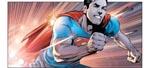 """Nok kan Superman løbe hurtigt men ikke """"faster than a speeding bullet"""""""