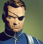 Nick Fury fra S.H.I.E.L.D.