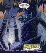 Stemningsmættet billede fra The Bat Cave.