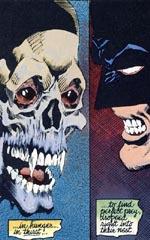 Batman konfronterer en vampyr.