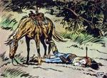 Crowe tages af dage af Quanah og hans kumpaner