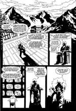 På første side af Caballistics, Inc. bliver der faktisk sagt nøjagtig hvad tegneserien handler om