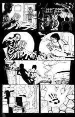 Engelsk undergrunds-selvreference - bemærk bogen som Hannah Chapter bruger som godnatlæsning