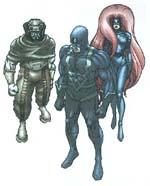 Gorgon, Sorte Lyn og Medusa
