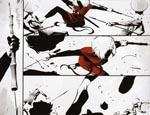 Ronin-samurai Durham i Frazer Irvings fantastiske Miller-homage-streg