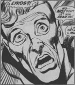 Mere ekspressive ansigtsudtryk er også karakteristisk for Neal Adams' mere dynamiske streg. Fra 'X-Men' #61.