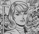 En nydelig, dydig Jean Grey i Werner Roths streg. Fra 'The Origins of the Uncanny X-Men' i 'X-Men' #57.