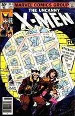 Forsiden af #141 - det første af de to numre, der indeholder 'Days of Future Past'.