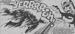 En Sentinel får ram på Wolverine i 'Days of Future Past'. Fra #142.