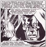 X-Men løber også ind i De Fantastiske Fires nemesis, Dr. Doom. Her i Dave Cockrums streg. Fra #147.