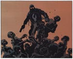 Lobster Johnson i aktion mod nazi-zombier