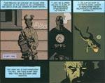 Hellboy fortæller sin livshistorie i albummets titelhistorie.
