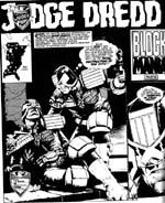 Der dør overraskende mange bipersoner i 'The Apocalypse War'. Her bider Judge Giant i græsset.