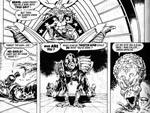 Dredd møder The Mutant i Ian Gibsons toony streg