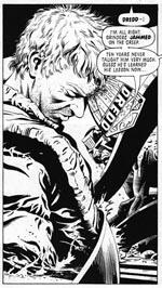 Alt er farligt i hånden på Dredd, her i Cliff Robinsons betagende streg