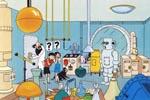 Den gale videnskabsmand og hans laboratorium