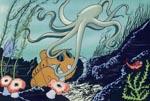 Mads, Mette og Sjoko på flugt i en undersøisk tank