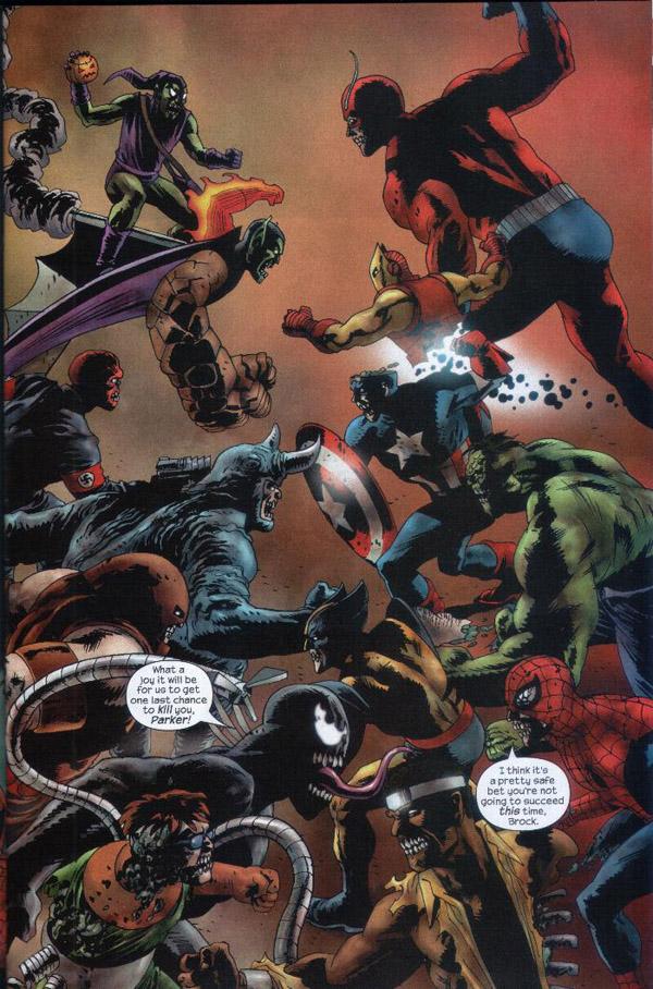 Paralleluniverset er alle superhelte og skurke blevet omdannet til
