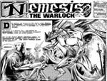 Den mest frygtede alien, Nemesis, i Kevin O'Neills klassiske streg.